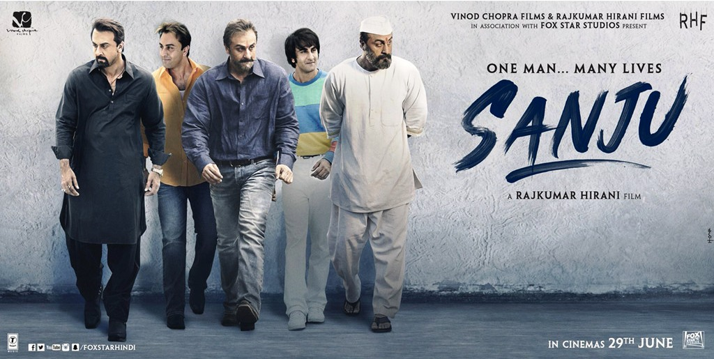 THE OFFICIAL TEASER FOR BOLLYWOOD FILM 'SANJU' IS HERE