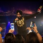 Satinder Sartaaj performing at the FPA 2018