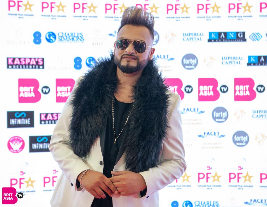 Gurj Sidhu at PFA red carpet