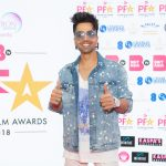 Harrdy Sandhu on the PFA 2018 red carpet