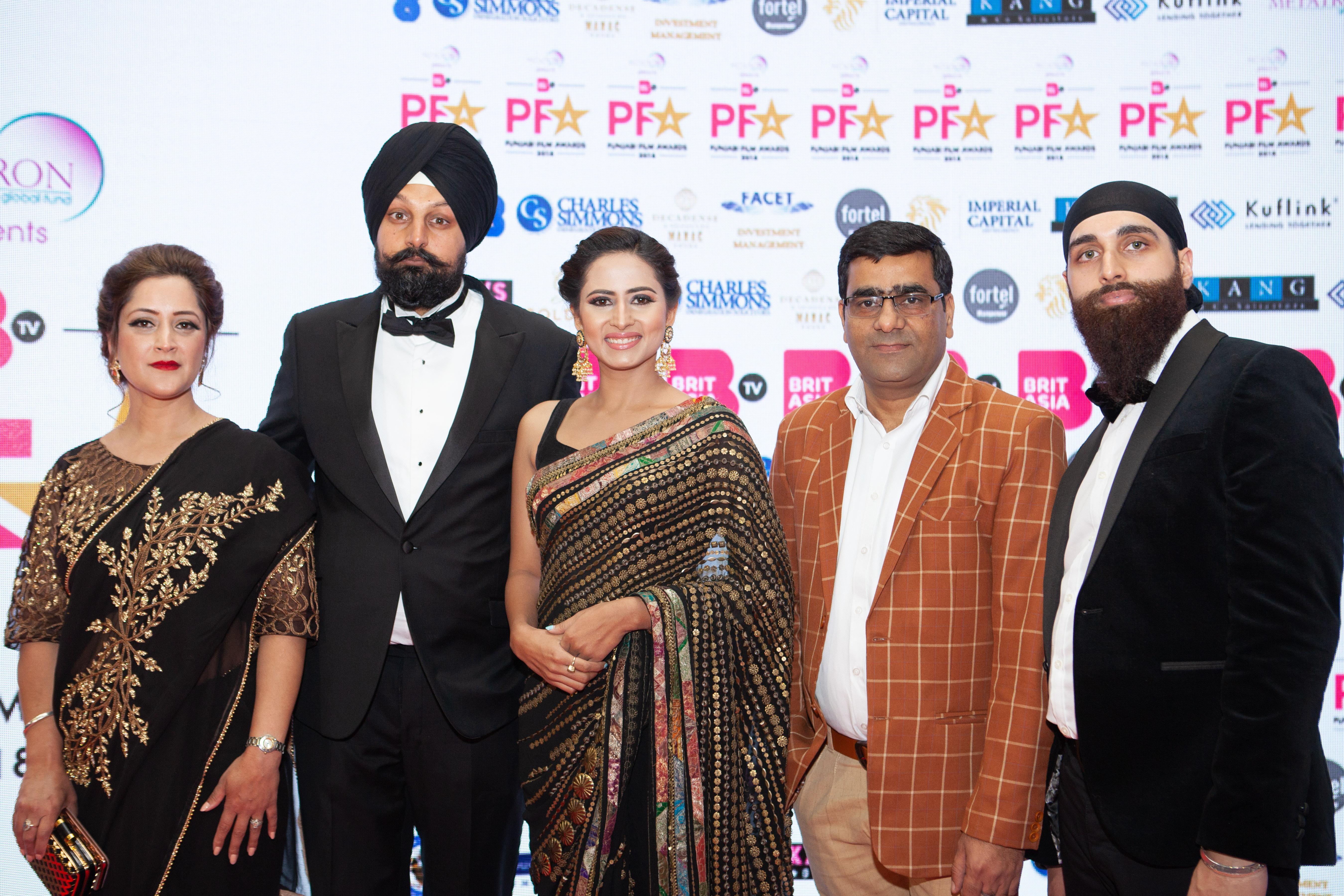 Harrdy Sandhu performs at the PFA awards