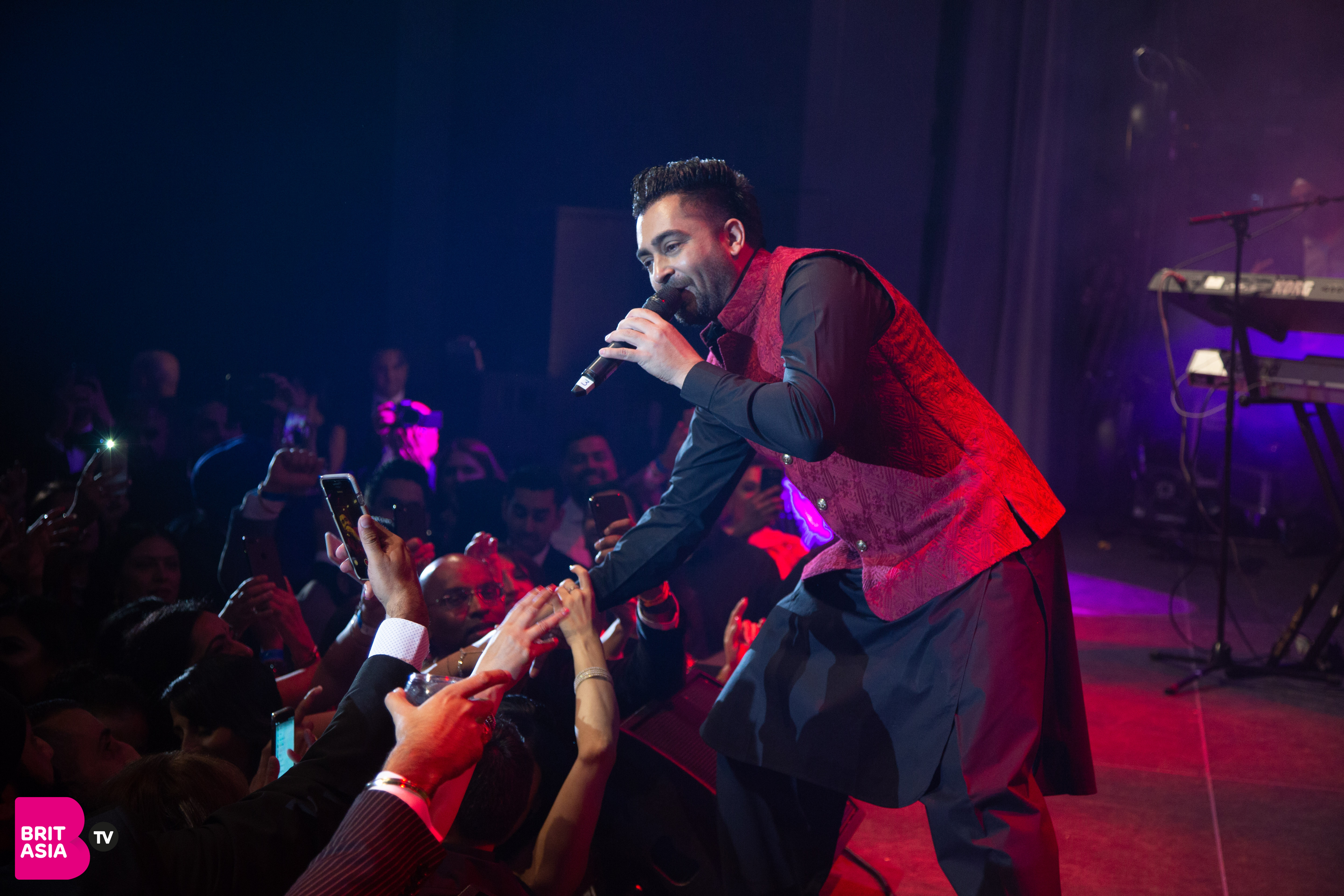 Sharry Mann performs at the PFA 2018
