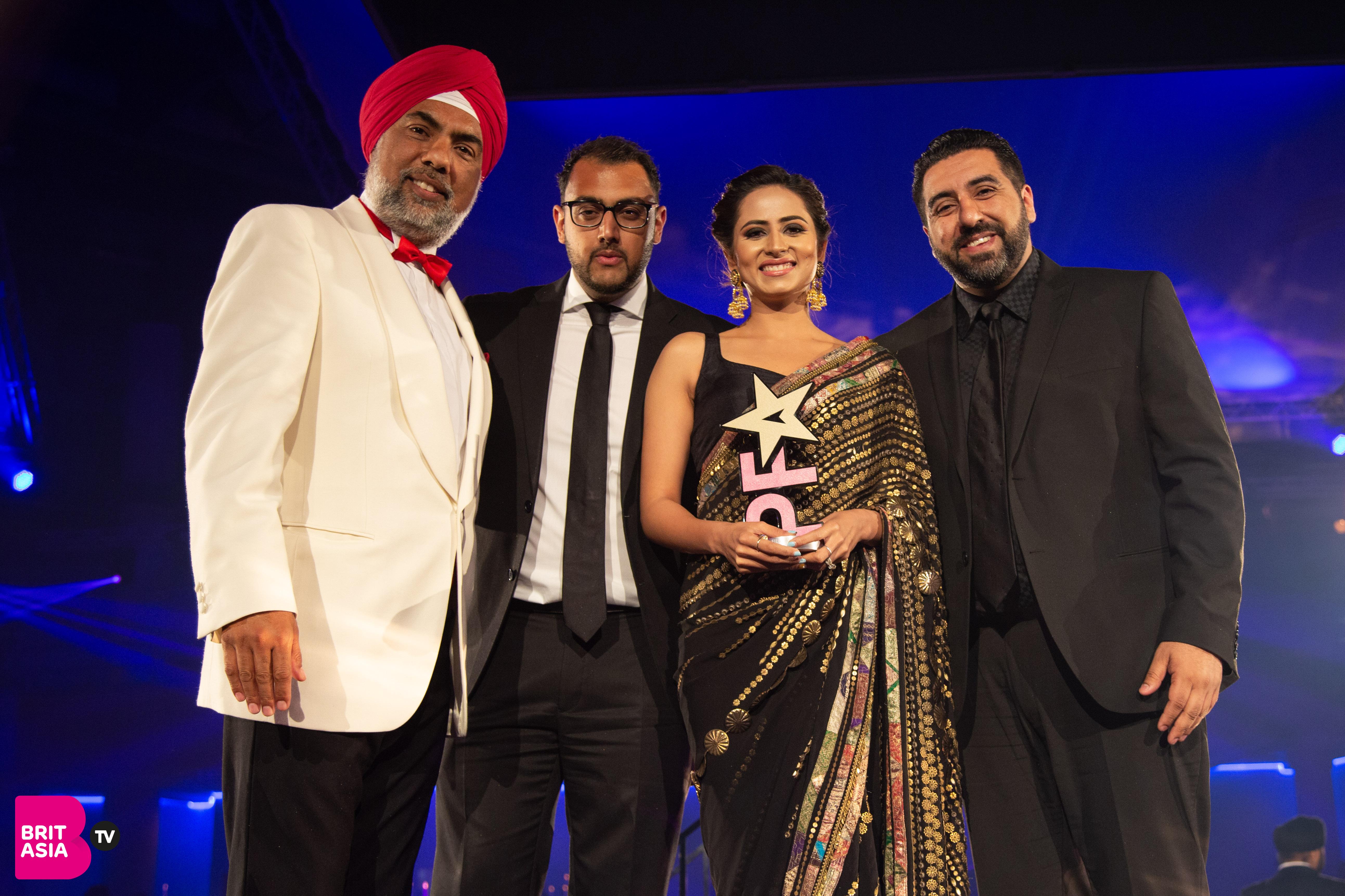 Sargun Mehta collects Best Actress