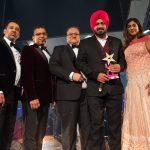 Gurpreet Ghuggi collects his award for Lifetime Achievement