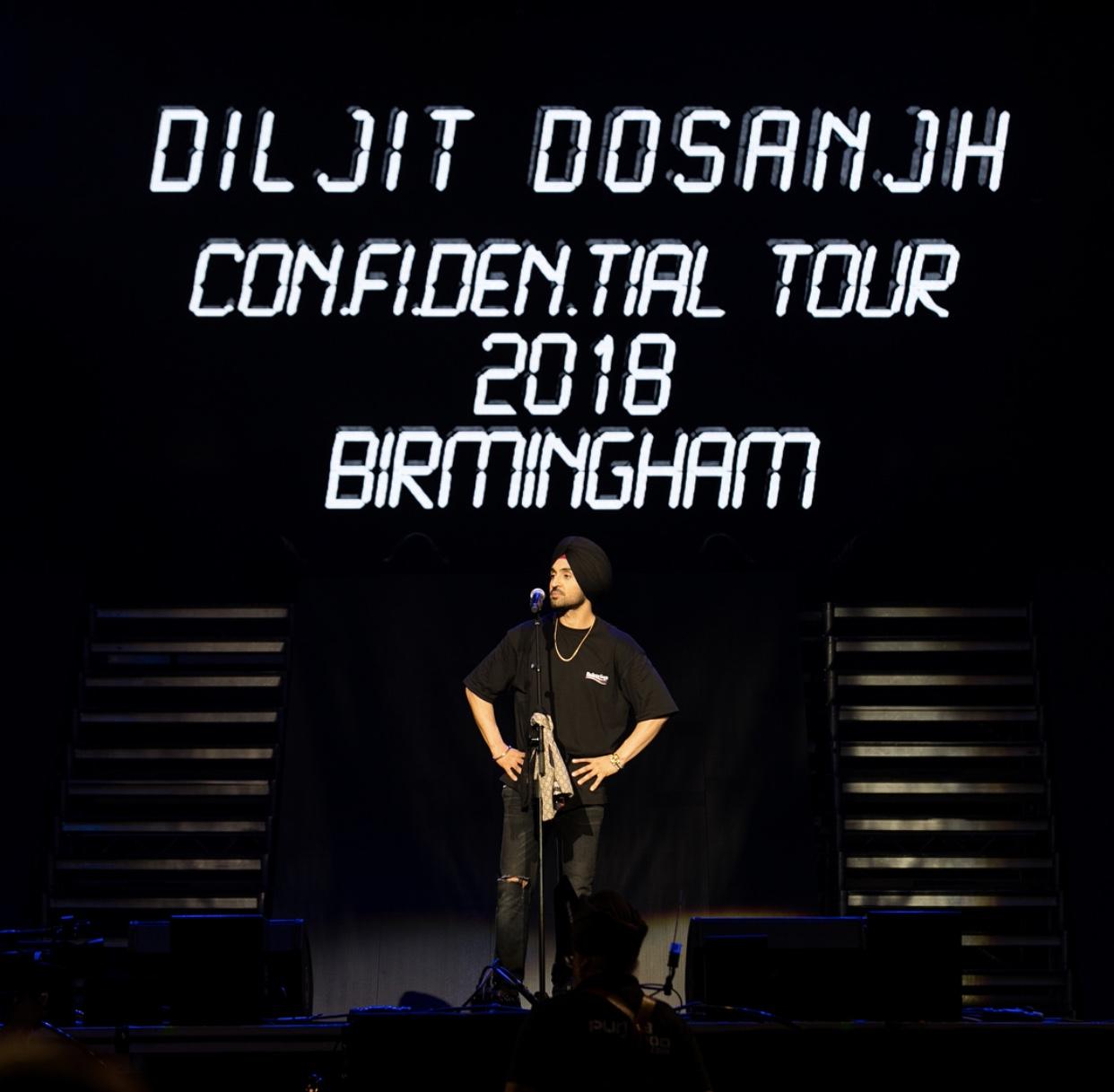DILJIT DOSANJH BREAKS BOX OFFICE RECORD AT ARENA BIRMINGHAM