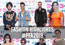 FASHION HIGHLIGHTS FROM THE PFA 2018