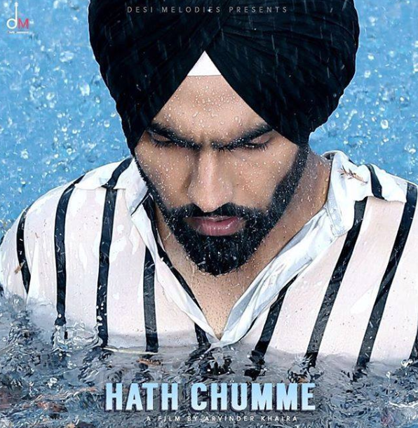 THE TEASER FOR AMMY VIRK'S LATEST TRACK 'HATH CHUMME' IS HERE