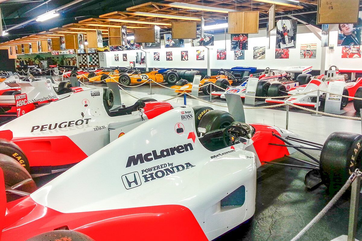 Best for F1 Fanatics; Visit to Donington Grand Prix Collection