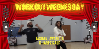 #WORKOUTWEDNESDAY WITH JASHAN JAWANI DA X HARPZ KAUR