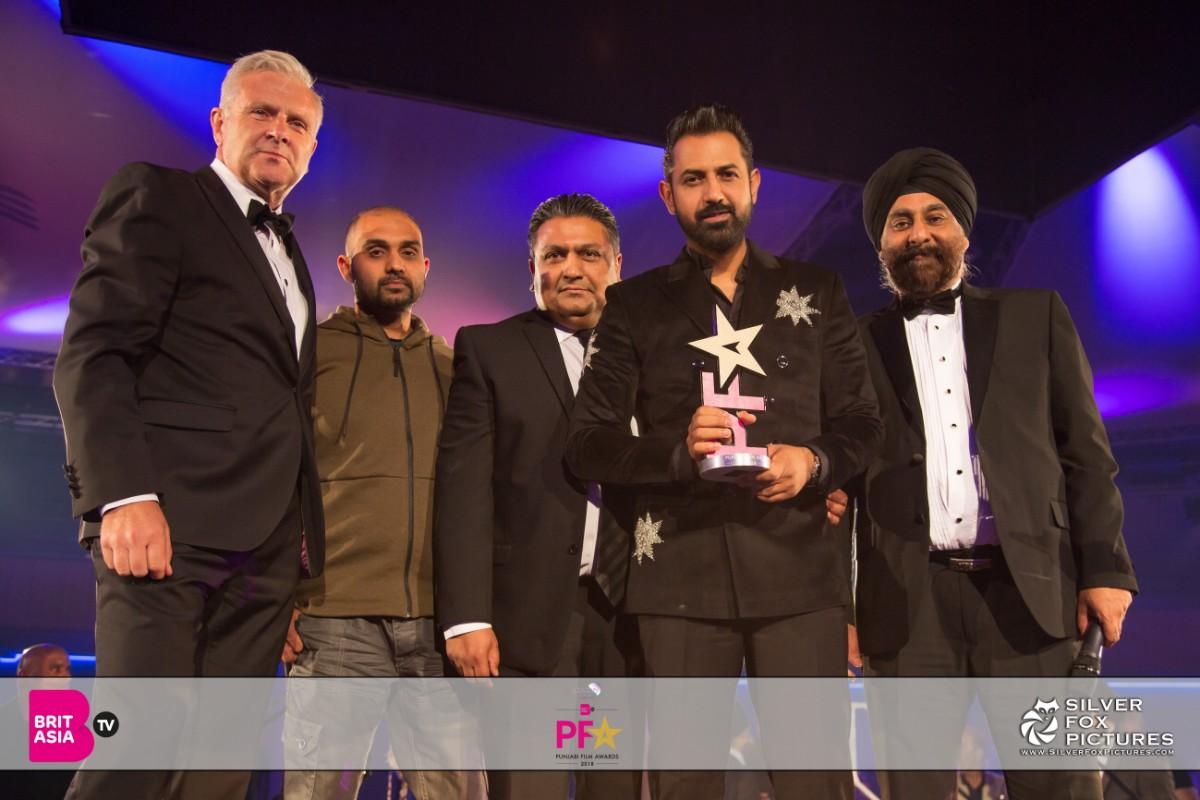 Gippy Grewal at the Punjabi Film Awards
