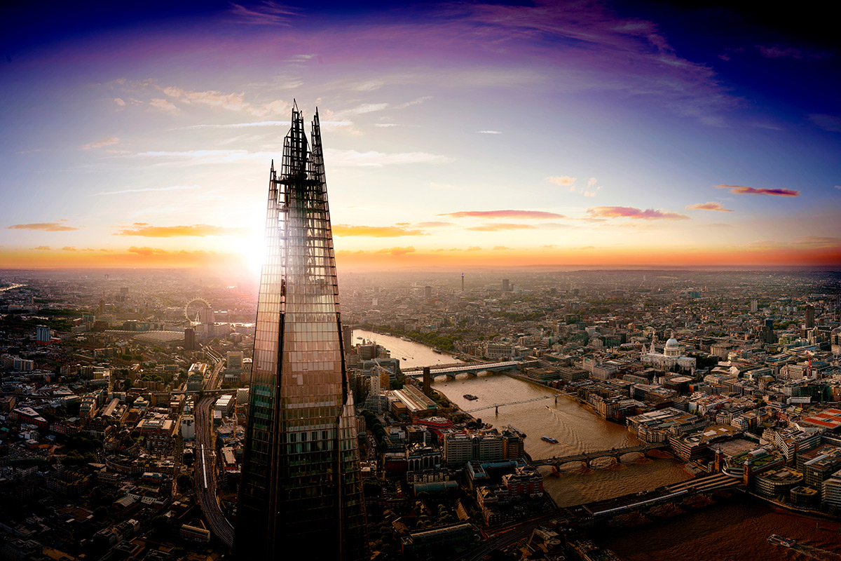 Best for London; The View from The Shard Followed by a Three Course Meal at Marco Pierre White's London Steakhouse
