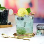 Blueberry and Basil G&T