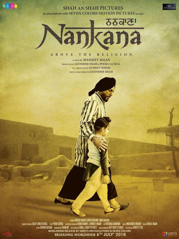 THE FIRST LOOK FROM GURDAS MAAN'S MOVIE 'NANKANA' IS OUT