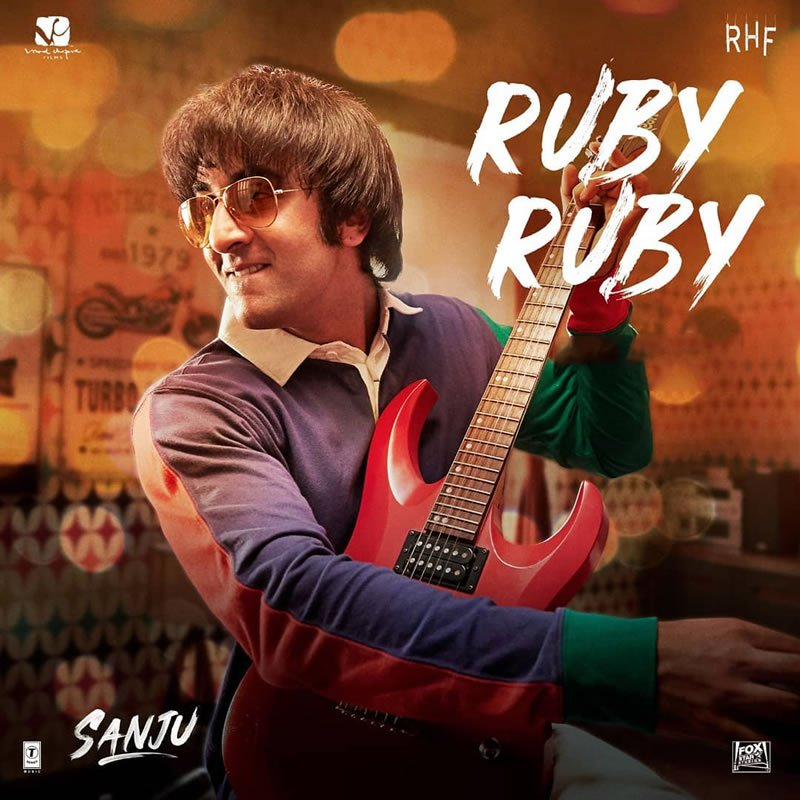 NEW RELEASE: RUBY RUBY FROM THE UPCOMING MOVIE 'SANJU'
