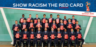 racism red card