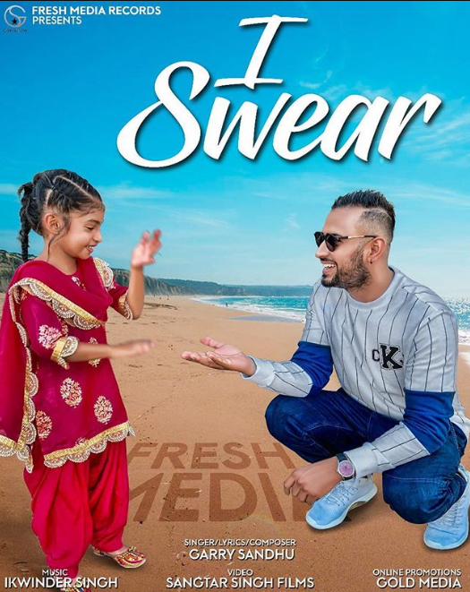 GARRY SANDHU HAS DROPPED A TEASER FOR HIS UPCOMING TRACK 'I SWEAR'
