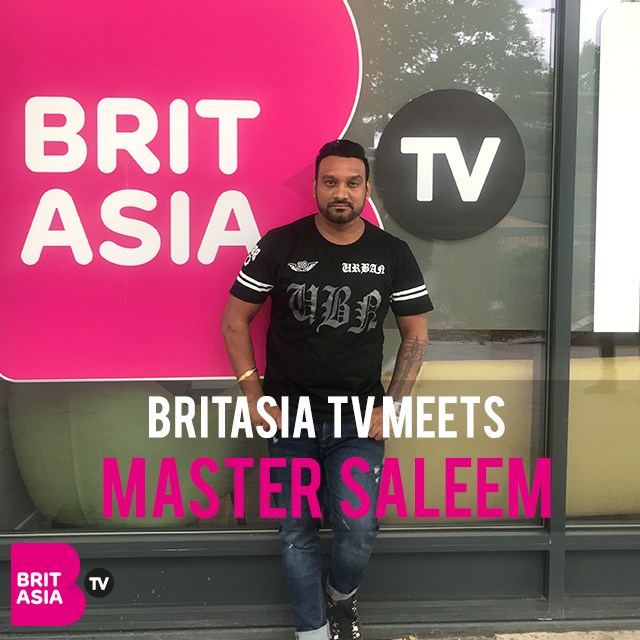 BRITASIA TV MEETS MASTER SALEEM
