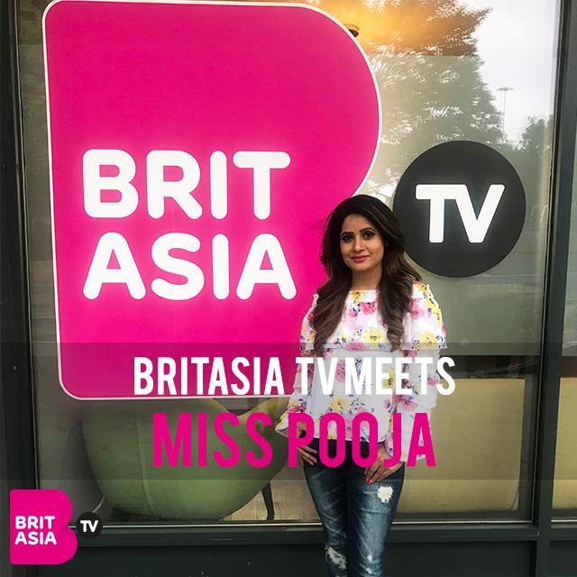 BRITASIA TV MEETS MISS POOJA