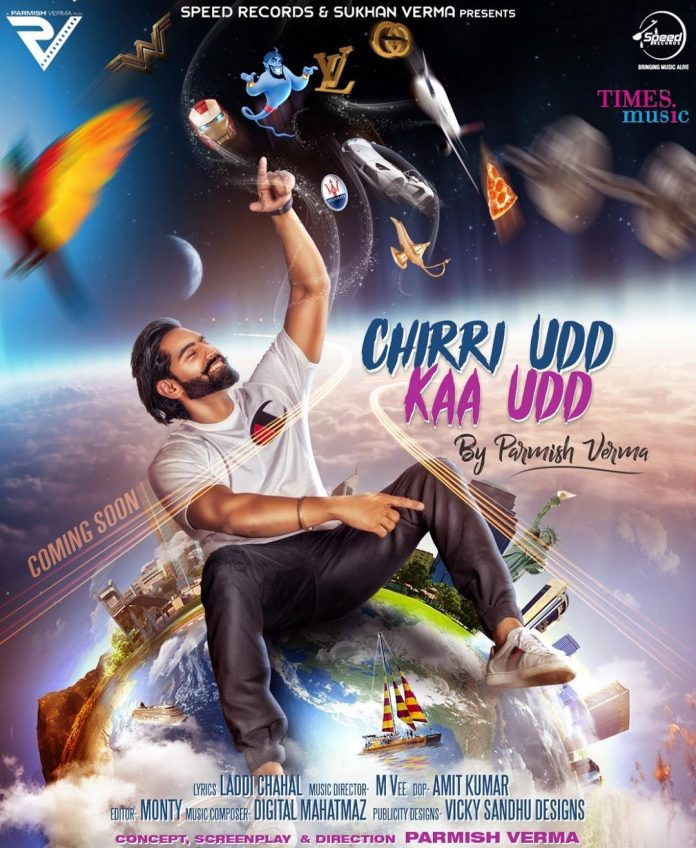 PARMISH VERMA SHARES TEASER FOR HIS UPCOMING TRACK 'CHIRRI UDD KAA UDD'