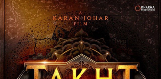 KARAN JOHAR REVEALS UPCOMING PROJECT 'TAKHT'