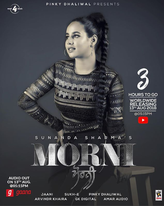NEW RELEASE: SUNANDA SHARMA – MORNI