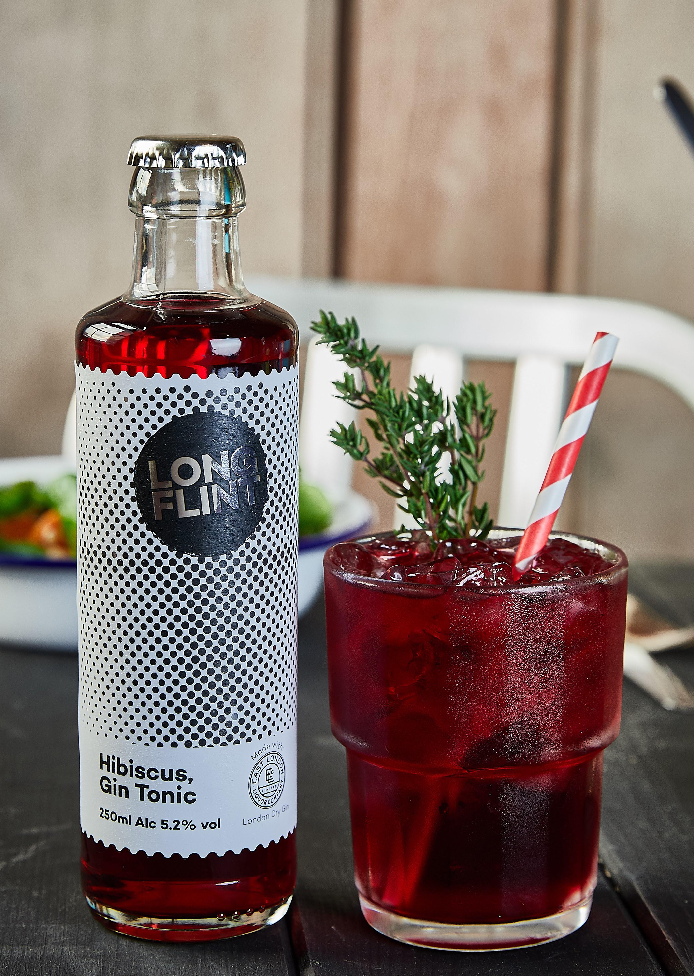 Hibiscus, Gin Tonic