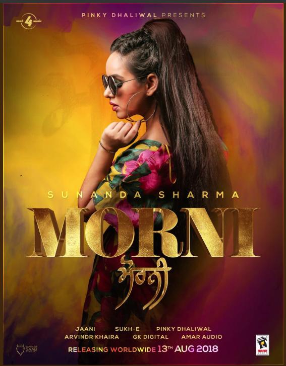 SUNANA SHARMA SHARES POSTER FOR HER UPCOMING TRACK 'MORNI'