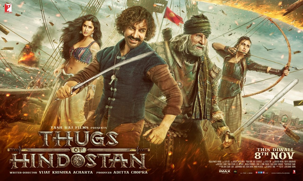 THE TRAILER FOR THUGS OF HINDOSTAN IS HERE