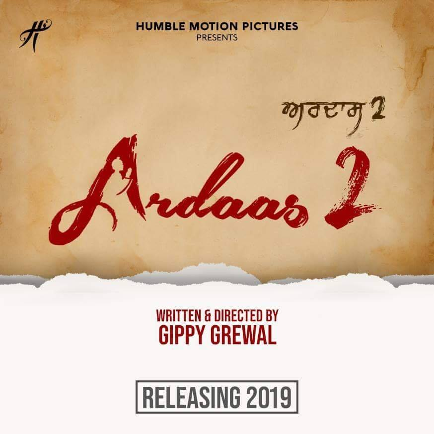 GIPPY GREWAL SHARES NEWS ON 'ARDAAS 2'