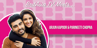 BRITASIA TV MEETS ARJUN KAPOOR AND PARINEETI CHOPRA