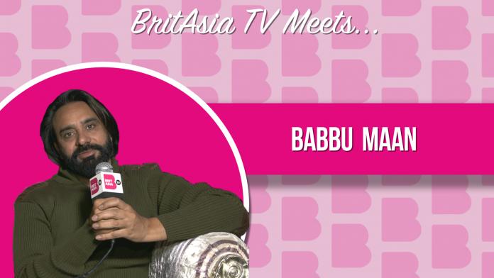 BRITASIA TV MEETS BABBU MANN