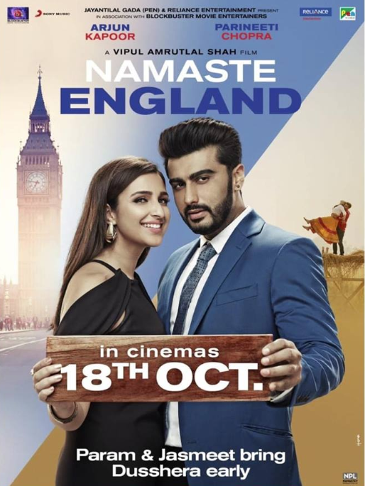 NEW RELEASE: TU MERI MAIN TERA FROM THE UPCOMING MOVIE 'NAMASTE ENGLAND'
