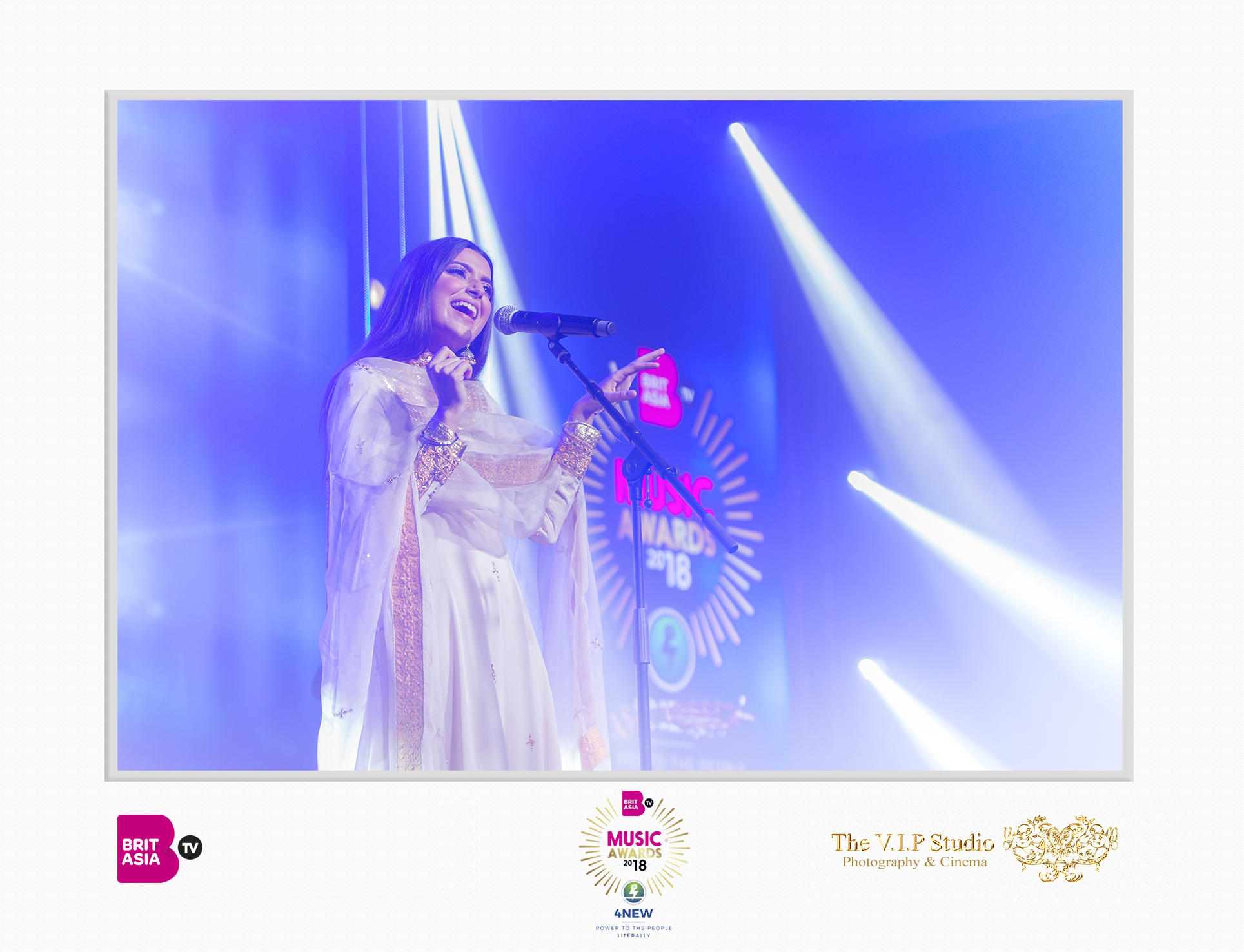 The VIP Studio - BritAsia Music Awards - Nimrat Khaira