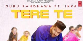 GURU RANDHAWA SHARES POSTER FOR UPCOMING TRACK 'TERE TE'