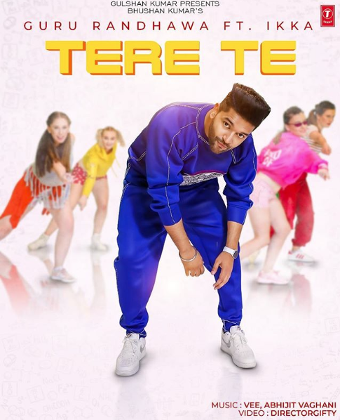 GURU RANDHAWA SHARES POSTER FOR UPCOMING TRACK 'TERE TE'