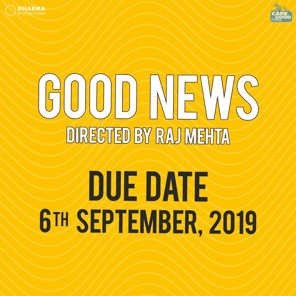 THIS IS WHEN 'GOOD NEWS' WILL BE RELEASING