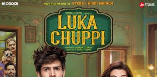 THE FIRST LOOK AT KARTIK AARYAN & KRITI SANON STARRER 'LUKA CHUPPI' IS HERE