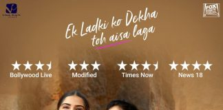 BOLLYWOOD SHOWS SUPPORT FOR 'EK LADKI KO DEKHA'