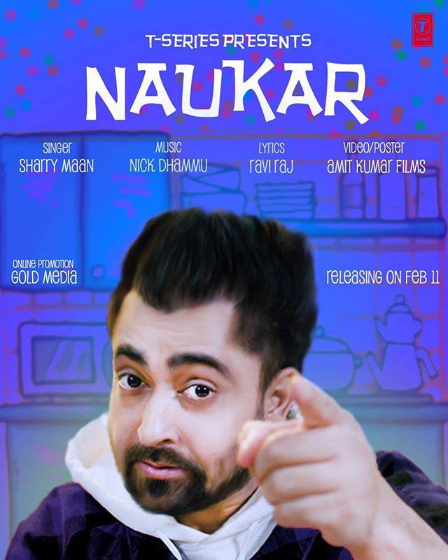 NEW RELEASE: SHARRY MAAN – NAUKAR