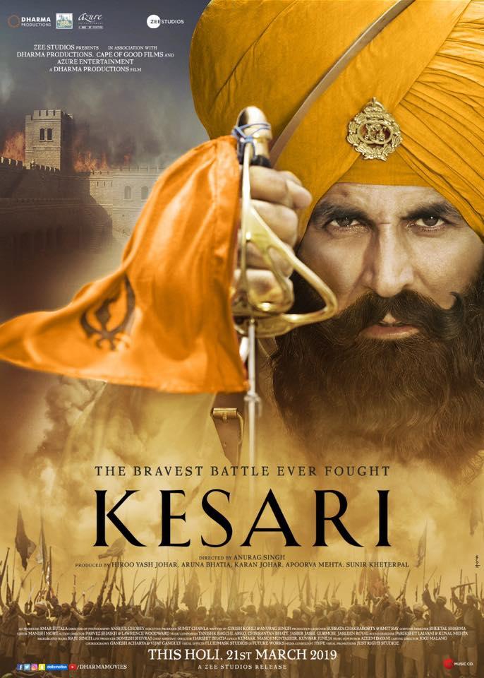 THE TRAILER FOR 'KESARI' HAS LANDED