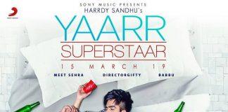 NEW RELEASE: HARRDY SANDHU – YAARR SUPERSTAAR
