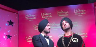 DILJIT DOSANJH HAS UNVEILED HIS WAX WORK FIGURE AT MADAM TUSSAUD'S IN NEW DELHI