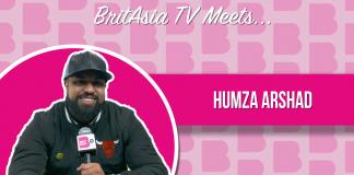BRITASIA TV MEETS HUMZA ARSHAD