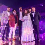 Mannat Noor and Steel Banglez at Punjabi Film Awards 2019