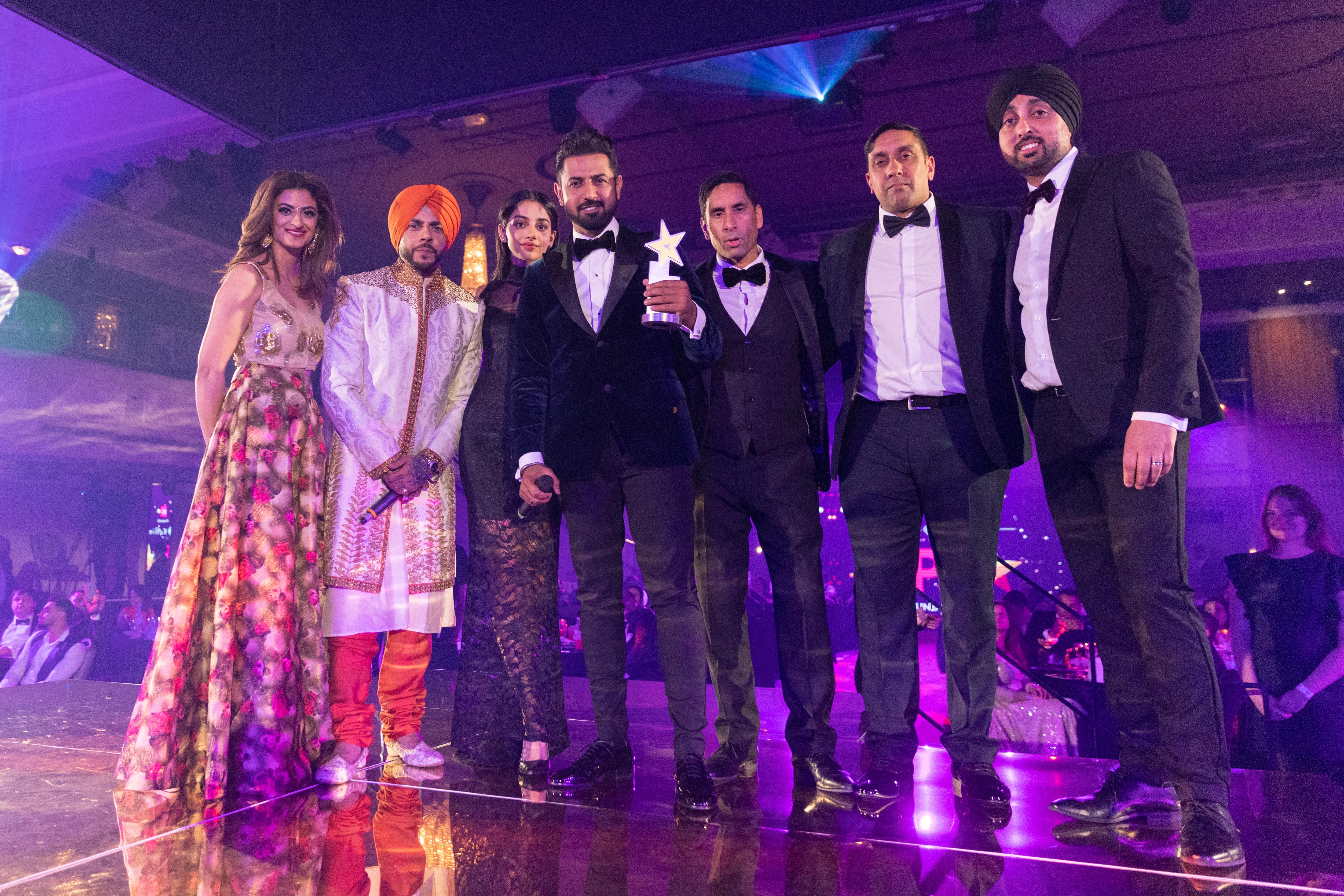 Gippy Grewal at Punjabi Film Awards 2019