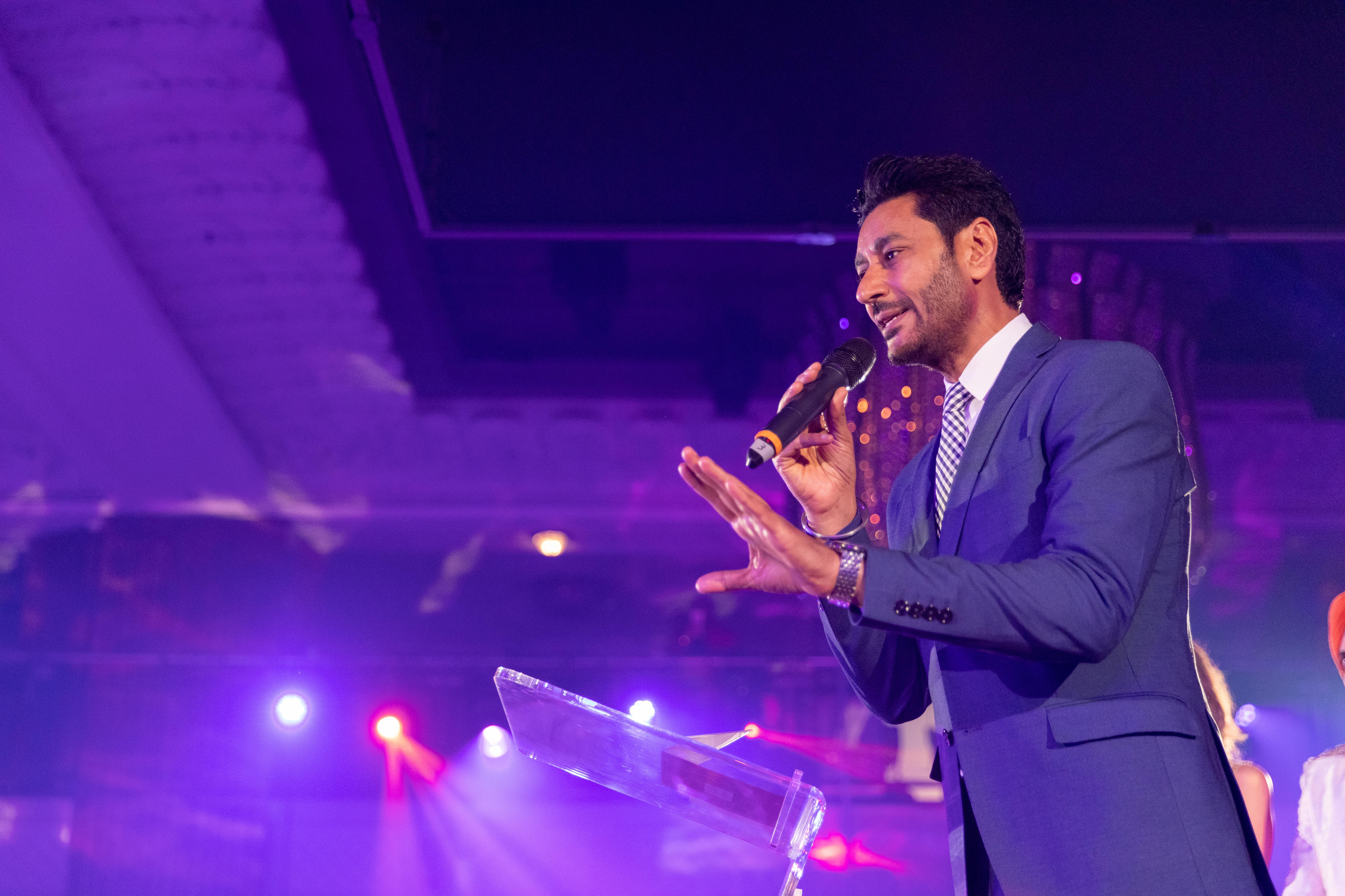 Harbhajan Mann at Punjabi Film Awards 2019