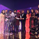 'Carry on Jatta 2' cast Gippy Grewal and Binnu Dhillon pick up the award for Best Film