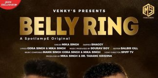 MIKA SINGH TEAMS UP WITH 'MR BOOMBASTIC' SHAGGY FOR 'BELLY RING'