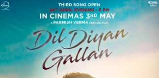 NEW RELEASE: JINDEY NI JINDEY FROM THE UPCOMING MOVIE 'DIL DIYAN GALLAN'