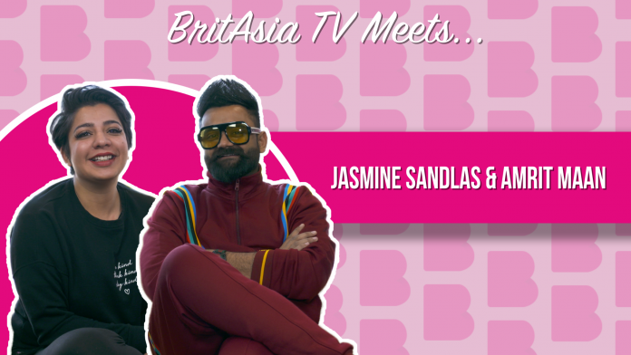 BRITASIA TV MEETS JASMINE SANDLAS AND AMRIT MAAN